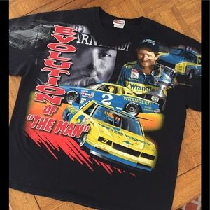 "Vintage Dale Earnhardt Evolution""The Man"" Shirt C9"